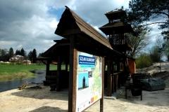 Kajai na rzece Włodawce