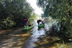 Rzeka Uherka kajaki