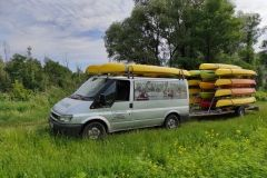 Transport Kajaków na Bugu