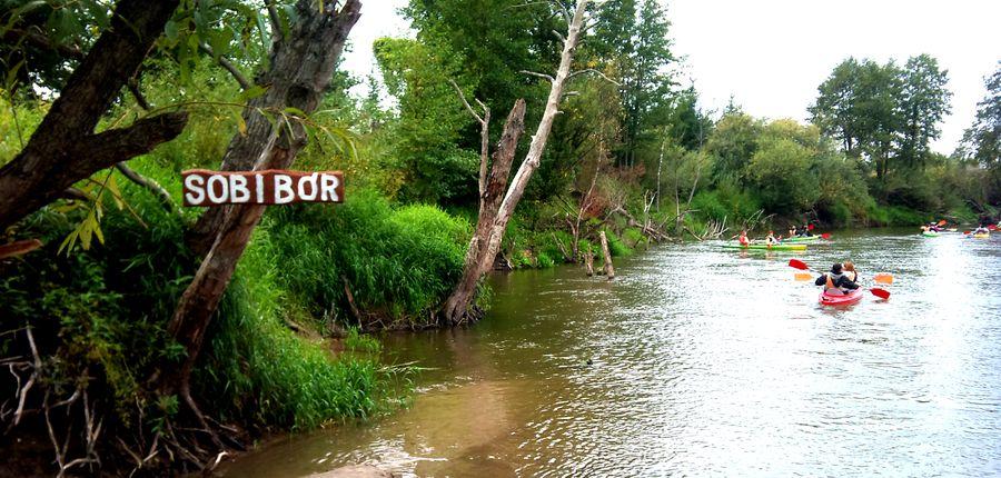 Rzeka Bug na szlaku - Poleska Dolina Bugu  Spływy kajakowe Bugiem