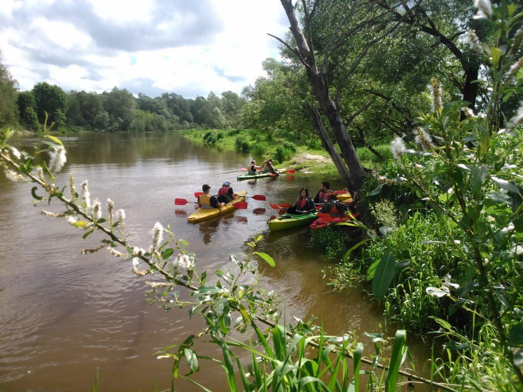 Sobibór - Różanka  Spływy kajakowe Bugiem