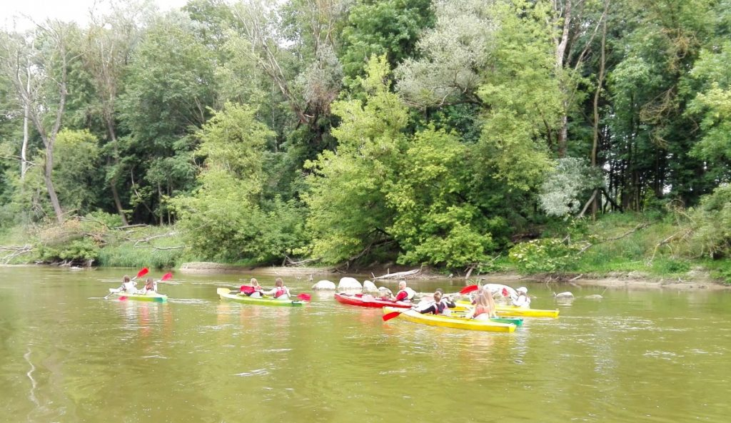 Canoe trips for school groups