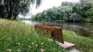 Wodowskaz na rzece Bug