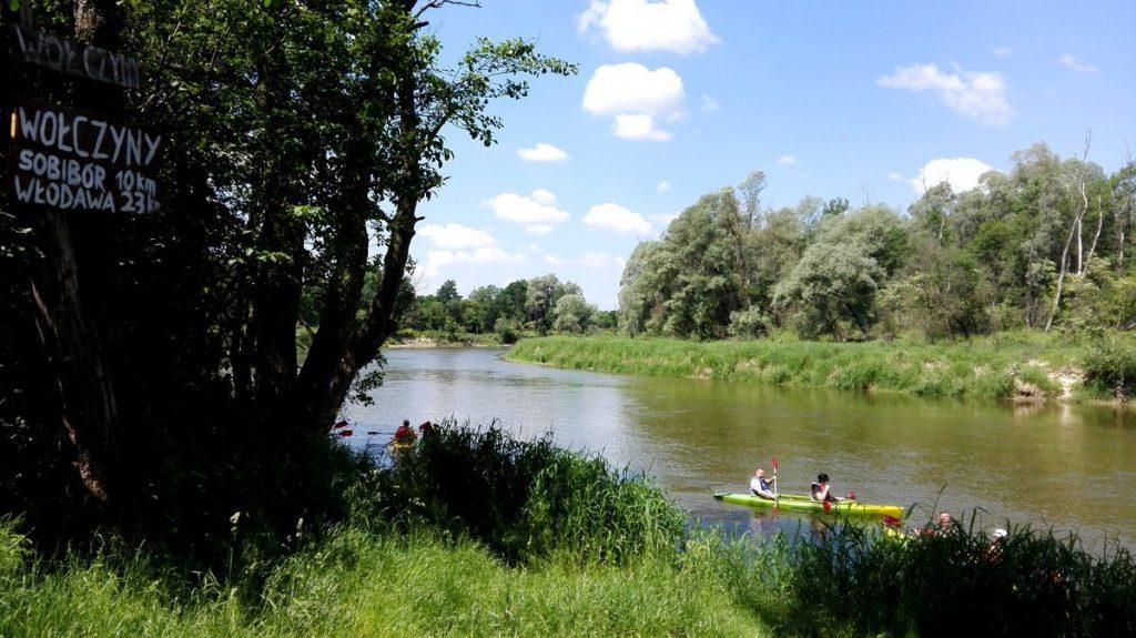 Wschodni szlak rowerowy Green Velo - Spływy kajakowe dla rowerzystów.