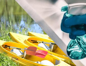 Spływy kajakowe - Bezpieczeństwo (COVID - 19)