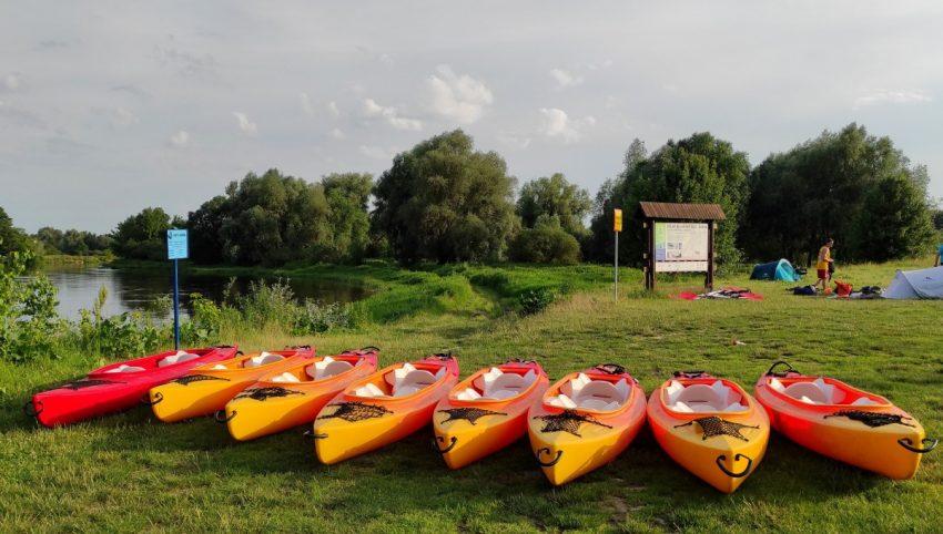 Wypożyczalnia kajaków we Włodawie - nasze kajaki